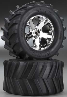 "Traxxas Tires/Wheels Assembled Glued 2.8\"" (2)"
