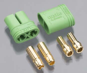 Castle Creations 4mm Polarized Bullet Connector Set