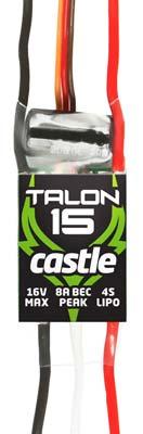 Castle Creations 2900 Talon 15 ESC 15A 25.2V