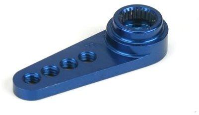 Dynamite 1/2 Machined Aluminum Servo Arm: Fut Blue