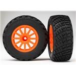 BF Goodrich Gravel Pattern Mounted Tires Rally Slash