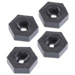 Traxxas Wheel Hubs, Hex (4)