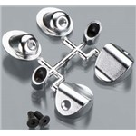 RPM Through-The-Body Mock Side Exhaust Tips Chrome