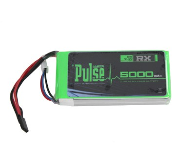 Pulse LIPO 5000mAh 7.4V (Receiver Battery)