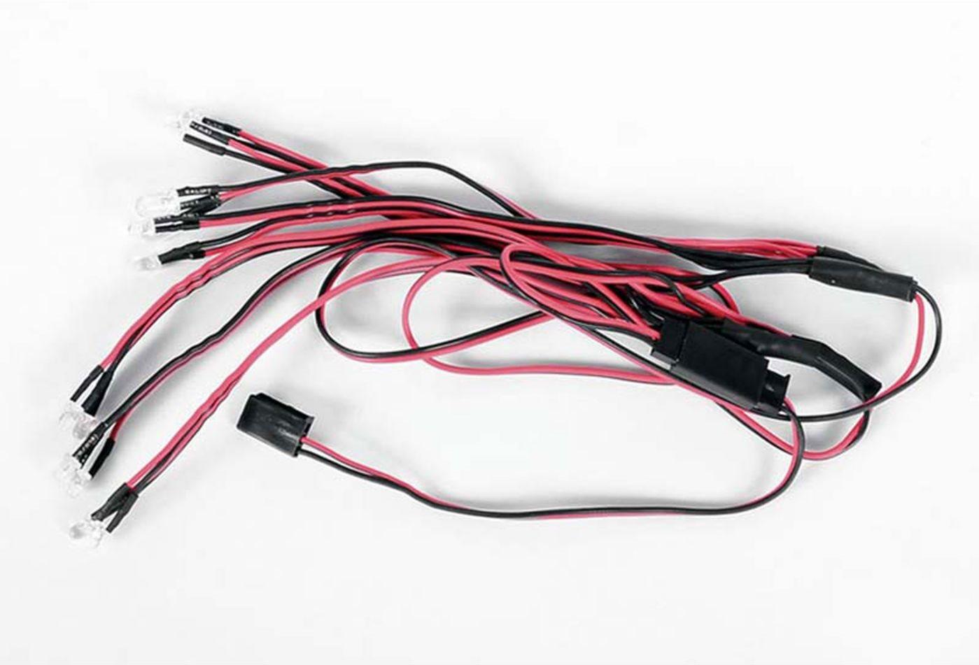 RC 4WD LED Basic Lightning System Mojave Body Set