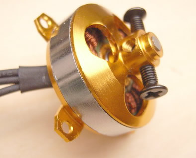 Suppo Model 1400Kv Brushless Outrunner Motor, 3.17 MM Shaft, 3.5MM Bullet Co