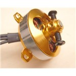 1400Kv Brushless Outrunner Motor, 3.17 MM Shaft, 3.5MM Bullet Co