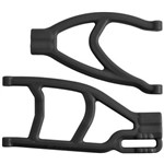 Extended Right Rear A-Arms Black Summit/Revo