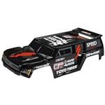 Traxxas Body Slash Dakar Truck Series Black/Wing