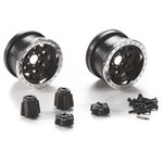 Axial 2.2 Walker Evans Wheels Chrome Black (2)