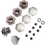 More\'s Ideal Products 17Mm Hex Adapter Kit, Traxxas Slash 4X4