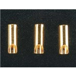 Great Planes Gold Plated Bullet Connector Female 3.5mm (3)