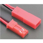 Great Planes ElectriFly Male 2-Pin Red Conn (2)