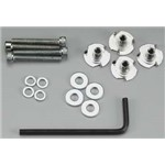 "Bolt Set/Blind Nuts 6-32x1"" (4)"