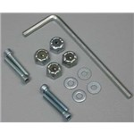"Bolt Set/Locknuts 2-56x1/2"" (4)"