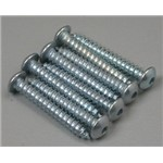 "Button Head Sheet Metal Screws 4x3/4"" (8)"