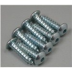 "Button Head Sheet Metal Screws 6x1/2"" (8)"