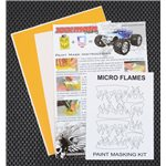 Micro Flames Paint Mask
