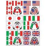Flags Sticker Sheet