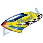 450 Plus Plastic Painted Canopy (Yellow/Blue/Red)
