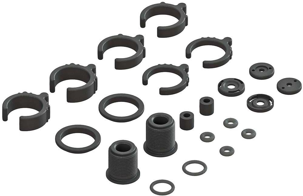 ARRMA Composite Shock Parts/O-Ring Set (2 Shocks)