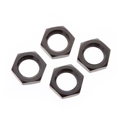 ARRMA Wheel Nut Aluminum 17mm Black (4)