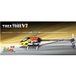 T-Rex 700E V2 3GX Flybarless Helicopter Super Combo Kit w/Motor