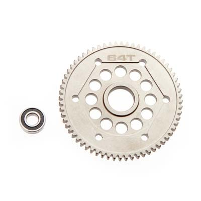 Axial Steel Spur Gear 32P 64T Yeti