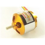 1100Kv Brushless Outrunner Motor, 4Mm Shaft, 3.5Mm Bullet Conn