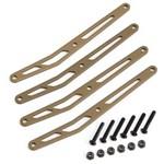 Axial Upper Link Plate Set Aluminum (4)