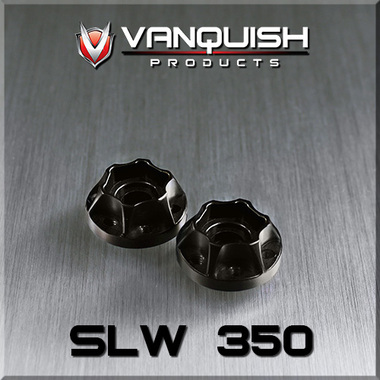 Vanquish Products SLW 350 Wheel Hub Black