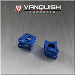 Vanquish Products Axial AR60 Axle Shock Link Mounts Blue