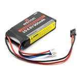 900mAh 2S 6.6V Li-Fe Receiver Battery