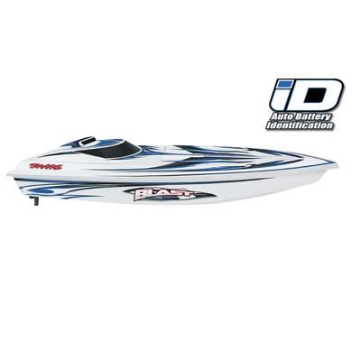 Traxxas Blast RTR Boat w/ESC w/TQ R White/Blue