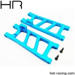 Hot Racing Blue Aluminum Rear Arm Set ECX