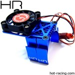 Hot Racing Blue Multi Mount Fan Heat Sink 36mm Motors