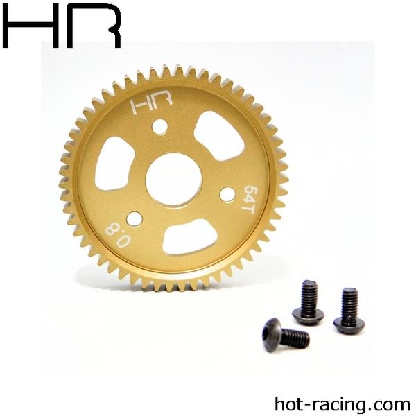Hot Racing 54 Tooth Aluminum Spur Gear, 32 Pitch (0.8Mod)