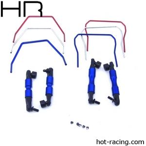 Hot Racing Front/Rear Sway Bar 4WD Slash Rally