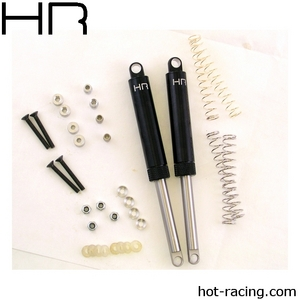 Hot Racing Black Internal Spring Air Shocks 120mm