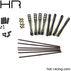 Hot Racing Full Set Sway Bar Kit Wraith Rock Racer