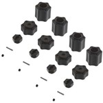 1 Hex Hub Conv Set (12mm)(4pcs) 9026/Wraith
