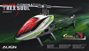 Align T-REX 500L Dominator Super Combo