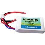 Common Sense RC Lectron Pro 11.1 volt - 450mAh 40C Lipo Pack