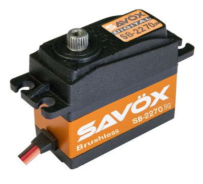 Savox Hv Brushless Digital Servo .12/444