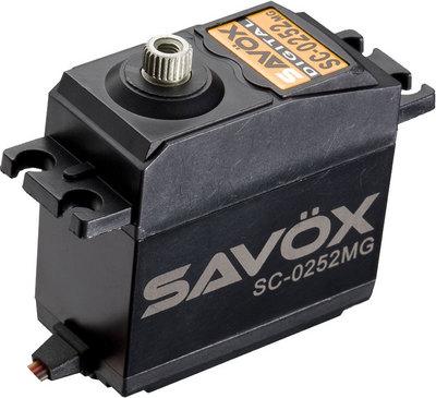 Savox Standard Digital Servo .19/145 @ 6.0V