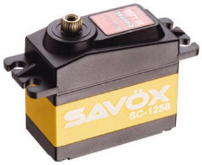 Savox Standard Size Coreless Digital Servo .08/166