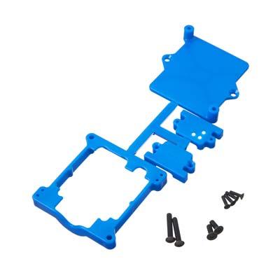 RPM ESC Cage Castle Sidewinder 3/SCT Blue