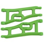 Wide Front A-Arms Green Rustler/Stampede