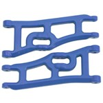 RPM Wide Front A-Arms Blue Rustler/Stampede