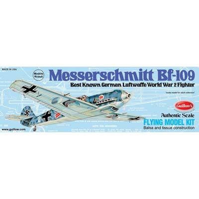 Guillow Model Kit WWII Model Messerschmitt